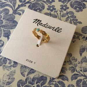 NEW! Madewell tribal ring
